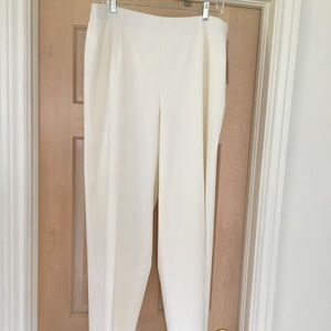 Coldwater Creek winter white pants (NWT)